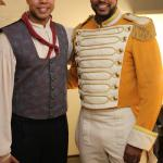 Brother in arms, Jonathan Milton during Carmen at Tampa Opera